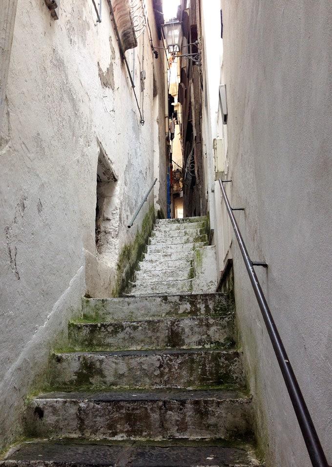 Amalfi stairway