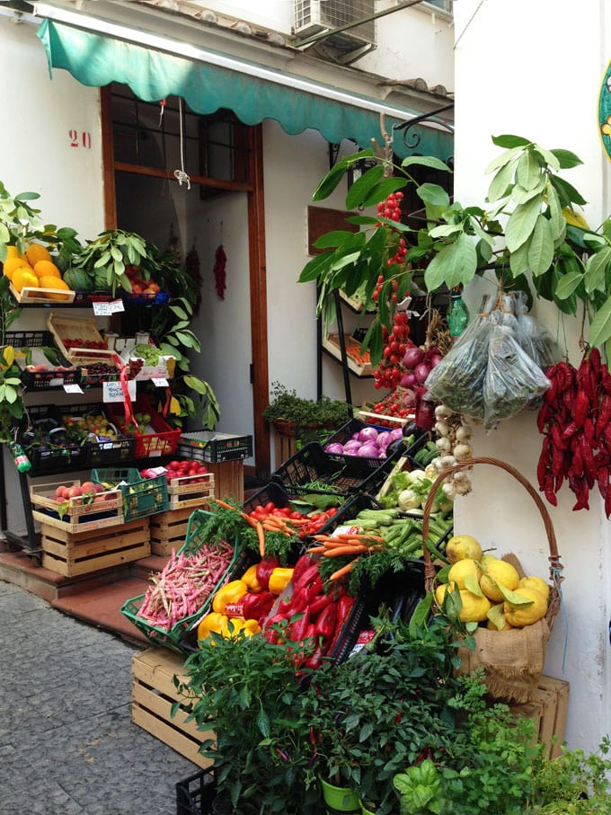 Amalfi market