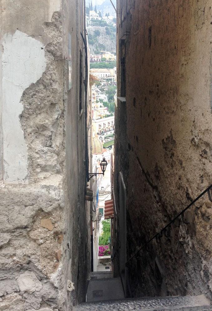 stairway in Positano