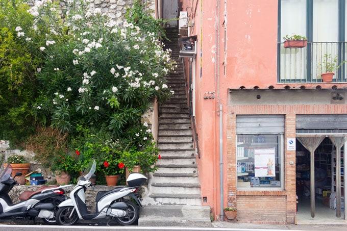 Positano stairway