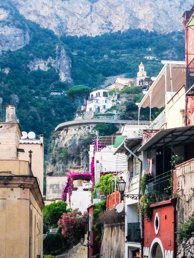 Positano, italy landscape