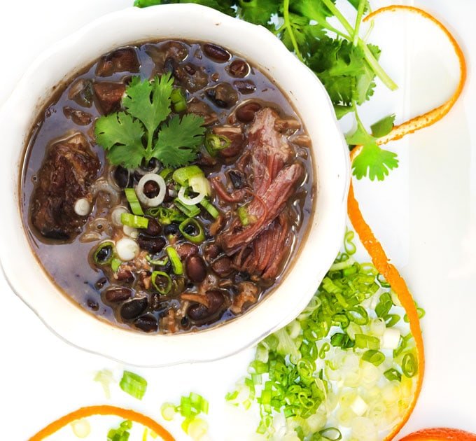 Feijoada: comforting delicious Brazilian meat and bean stew