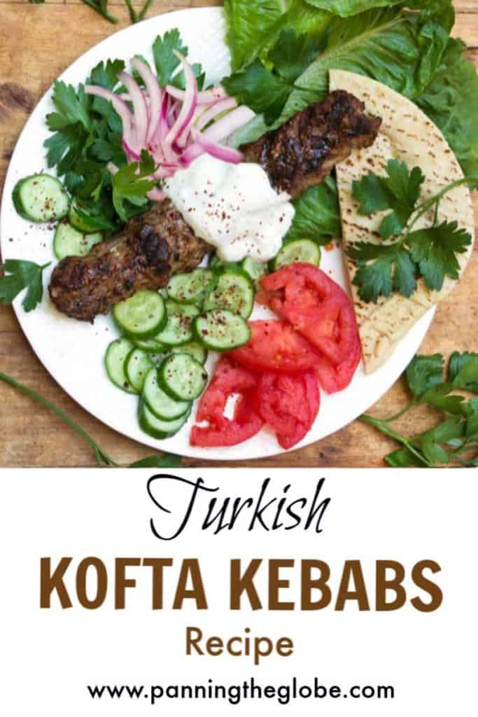 Grilled Kofta Kebabs Pin
