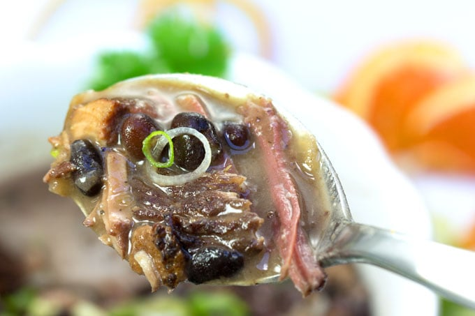 Feijoada: A slow cooker recipe for Brazil's famously delicious meat and bean stew.
