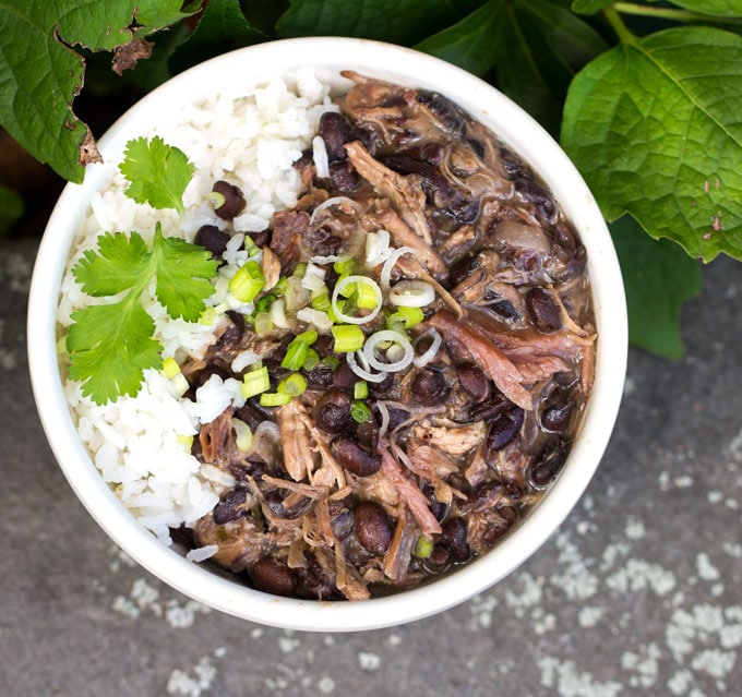 Brazilian Feijoada: a slow cooker version of Brazil's famous meat and bean stew