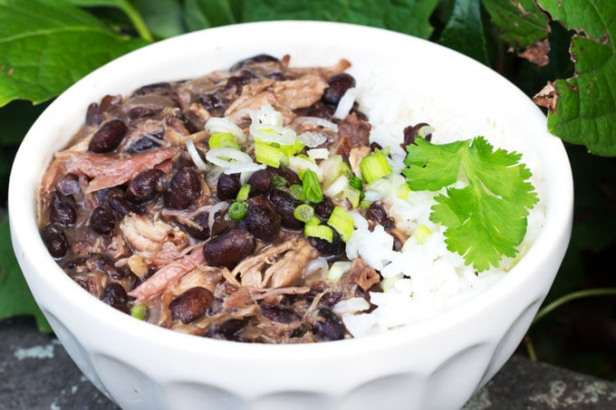 Brazilian Feijoada - a slow cooker recipe for Brazil's famous meat and bean stew