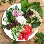 Every Middle Eastern country has a version of grilled Kofta Kebabs. It's hard to imagine anything more delicious! Especially with garlicky yogurt sauce! This recipe shows you how to make authentic Turkish Kofta Kebabs at home.