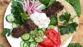Grilled Turkish Kofta Kebabs I Panning The Globe