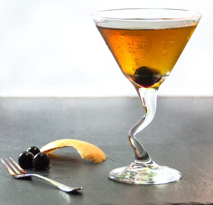 How to make the perfect Perfect Manhattan - a recipe by Panning The Globe