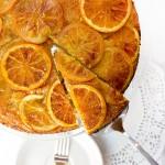 Orange Vanilla Upside Down Cake - Panning The Globe