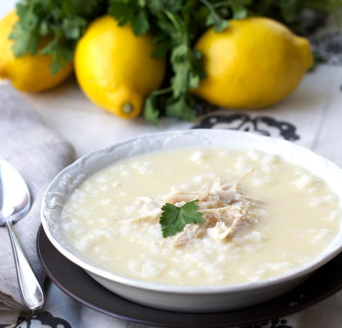 Panning The Globe's Top 10 Recipes of 2015: Greek Lemon Chicken Soup
