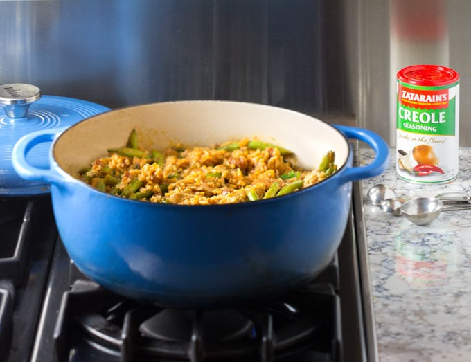 Jambalaya with Zatarain's Creole Seasoning