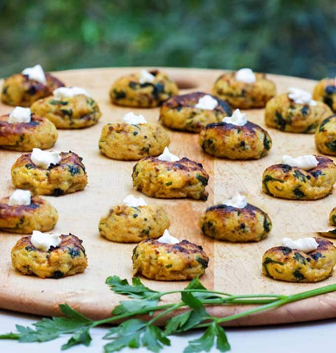 Mini Potato Knish Appetizer Recipe
