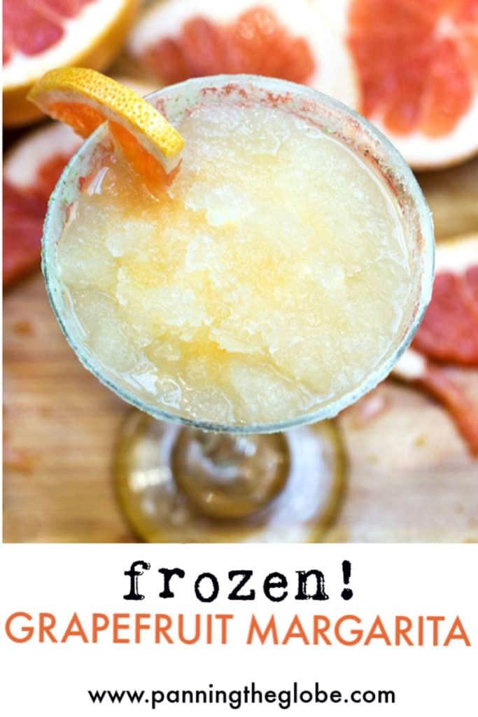 frozen grapefruit margarita