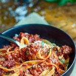 Quick Turkey Ragu - a rich, delicious healthy meat sauce recipe made with ground turkey