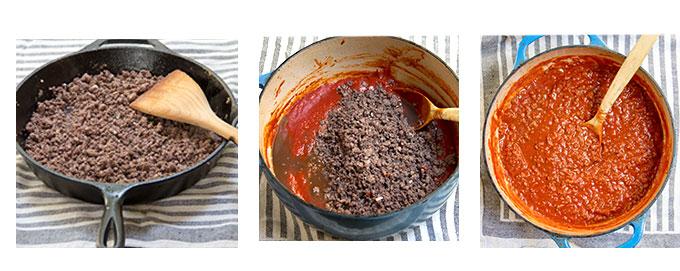 Quicke Turkey Ragu recipe