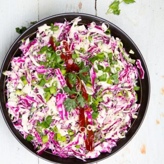 Creamy Spicy Chipotle Coleslaw