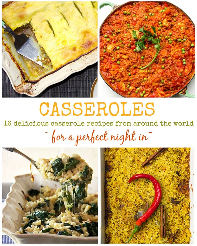 Casserole collage new webg 16 delicious casserole recipes from around the world that you will love to cook at home forumfinder Image collections