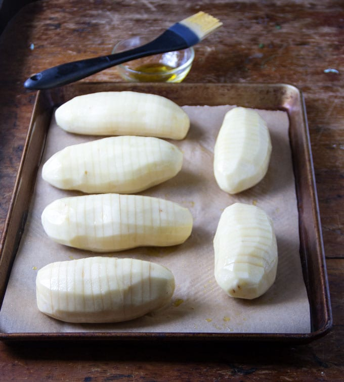 How to make perfect hasselback potatoes
