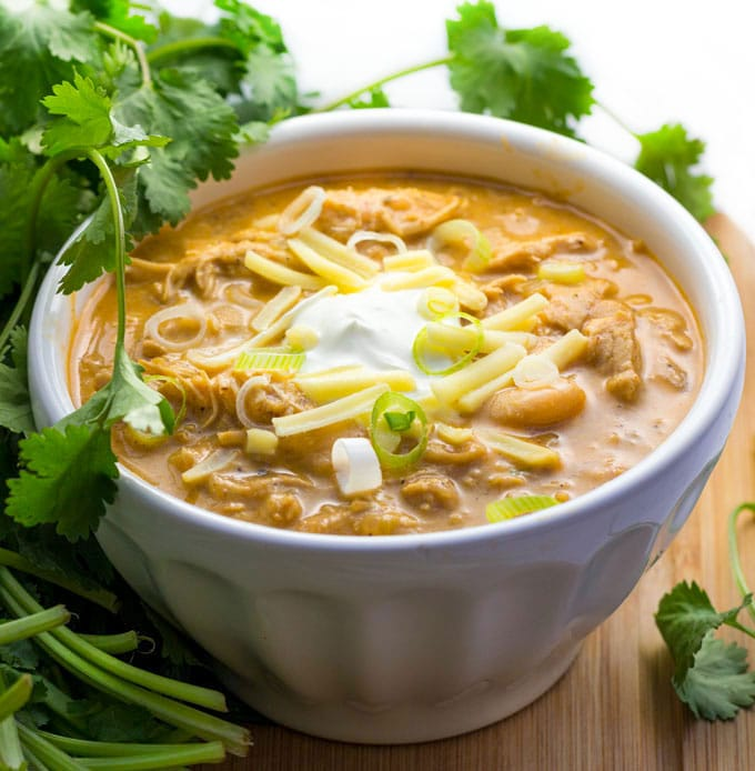 Top Ten Recipes: Award Winning White Chicken Chili