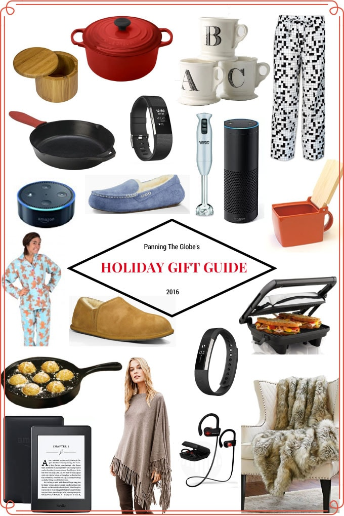 Panning The Globe Holiday Gift Guide 2016
