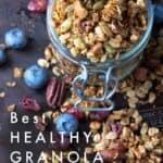 healthy granola pin