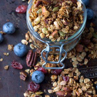 My Favorite Healthy Granola Recipe