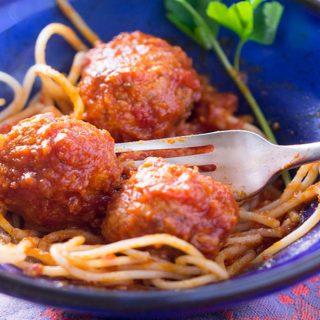Italian Style Turkey Meatballs [gluten-free]