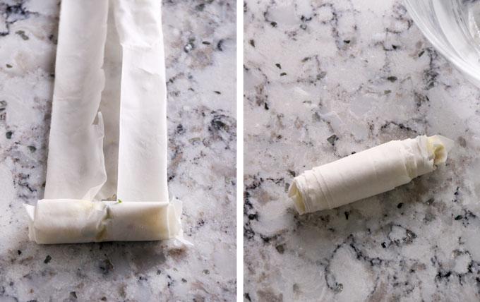 Recipe for Turkish sigara borek