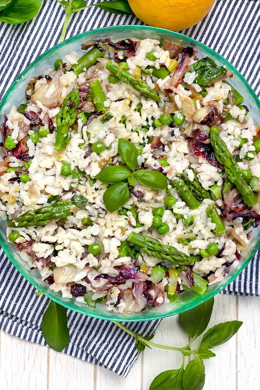 Mediterranean Rice Salad Recipe L Panning The Globe