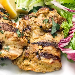 Ras El Hanout Grilled Chicken Thighs