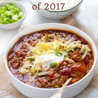 Your Favorite Recipes of 2017