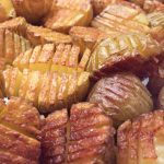 Mini Inside-Out Hasselback Potatoes
