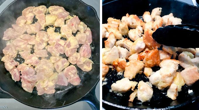 Chinese orange chicken recipe - panning the globe