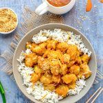 Tender chunks of lightly battered chicken in sweet, sour, intensely orange glaze. Orange chicken is a Chinese restaurant favorite that's surprisingly easy to cook at home. This recipe will show you how to make delicious extra crispy orange chicken without deep-frying - as delicious as takeout but lighter and healthier.