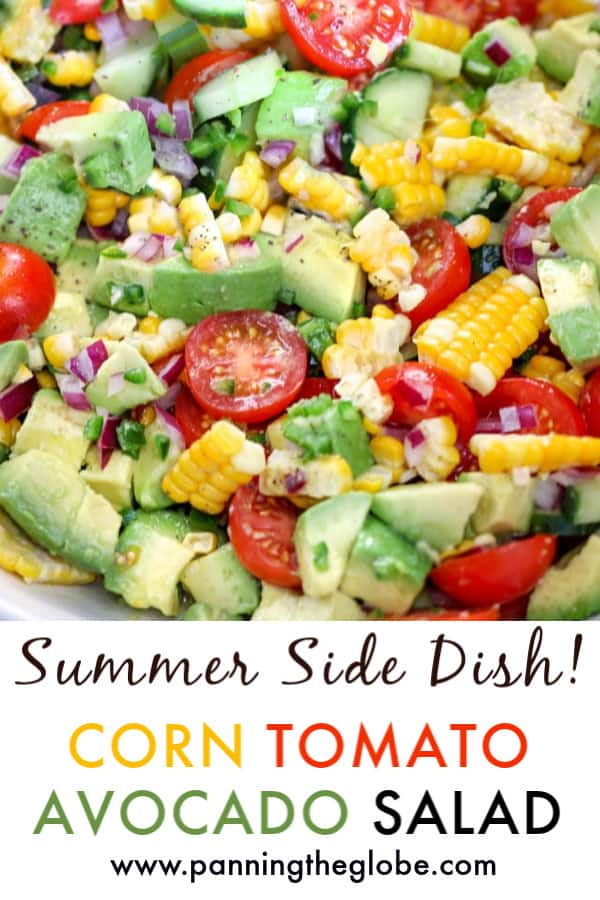 corn tomato avocado cucumber salad pin