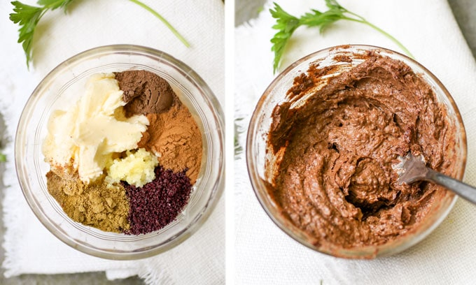 How to make shawarma spiced butter