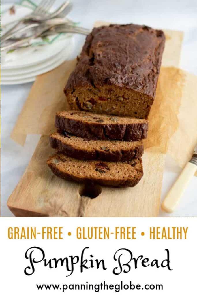 healthy pumpkin bread pin