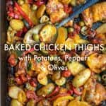 ottolenghi baked chicken recipe pin